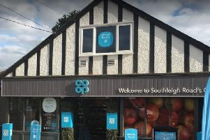 The Co-Op in Southleigh Road, Emsworth. Photo: Google Street View