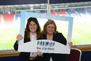 Co-founders of The Job Show - Caroline Connaughton, Managing Director and Victoria Clarke, Director