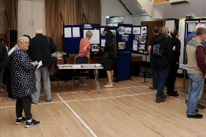 Yapton and Ford Local History Group's photographic exhibition in the Village Hall