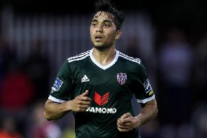 In form midfielder, Gerardo Bruna has agreed a new contract with Derry City.