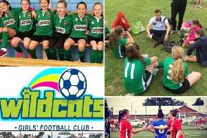 Sleaford Town JFC girls cater for footballers aged four to 16 EMN-190815-154006002