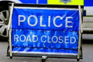 The road in Wisborough Green was closed for several hours