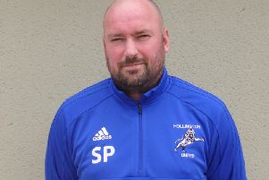 Hollington United manager Scott Price. Picture courtesy of Simon Newstead.