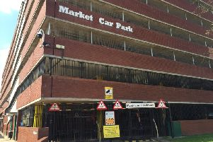 The car park has been closed since July