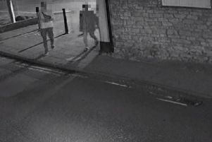 CCTV footage before the offence