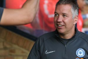 Darren Ferguson was pleased with his side's 2-0 win at Southend United on Tuesday (Picture: Joe Dent)