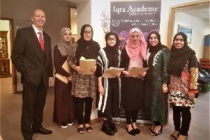 There were record breaking results at Iqra Academy