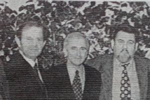 Newtownabbey Councillors and guests pictured at the East Antrim UUP Dinner, 1997