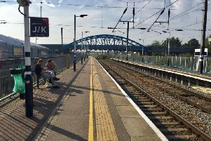 A largely deserted Peterborough Station. Photo: David Lowndes