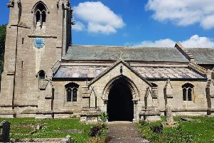 St Edith's Church at Anwick, targeted by lead thieves in May. EMN-190819-105259001