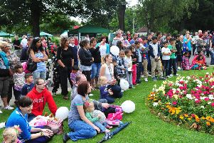 There is a family fun day at Central Park on Saturday