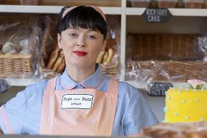 Bronagh Gallagher as Pamela in the Derry set film. Still: Element Pictures.