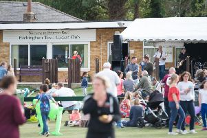 The scene at Buckingham Town Cricket Club's first ever fun day