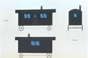 Plans for the shepherd's huts