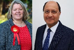 Lisa Forbes and Shailesh Vara