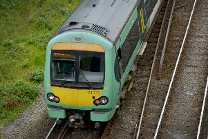 Trains are disrupted this afternoon