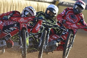 Charles Wright (left) and Scott Nicholls (right) are back in action for Panthers against Swindon.
