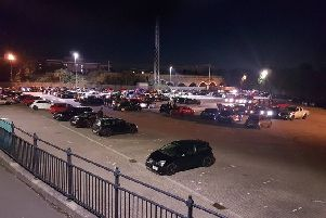The car cruise. Pic: Peterborough police