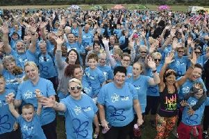The 2018 Memory Walk at Ferry Meadows