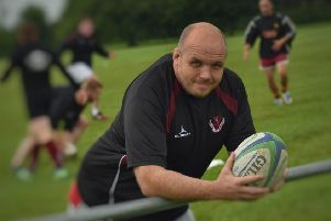 Former Leicester Tigers prop Mike Holford is braced for his first league game as Melton RFC head coach EMN-191009-171522002
