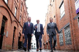 Stephen Kelly, Manufacturing NI, Colin Neill, Hospitality Ulster and Glyn Roberts, Retail NI. A group of trade bodies have come together to create a plan which they say can create 65,000 jobs and boost Northern Ireland's economy