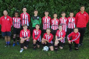 Mowbray Rangers U13s made a winning start after promotion EMN-191209-164627002