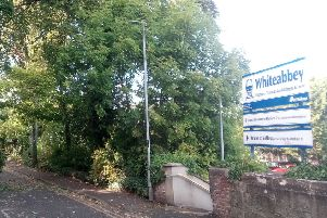 Whiteabbey Train Station.