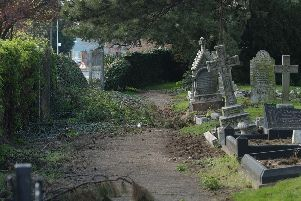 The cemetery in Mount Pleasant Road, Wisbech