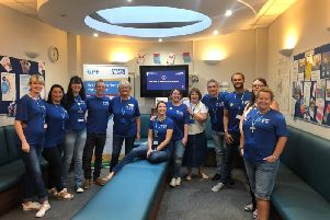 Clarendon :Lodge Medical Practice staff are ready for its fitness club launch as part of National Fitness Day.