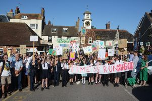 Steyning climate march