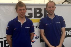 Todd Ellis (left) and Charlie Richardson are 30 points at the top EMN-180207-173024002