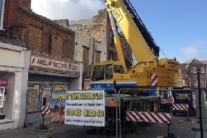 Demolition works. Photo: Fenland District Council