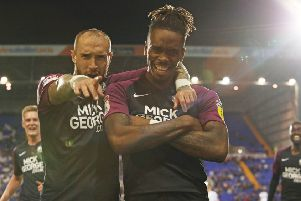 Marcus Maddison (left) and Ivan Toney.