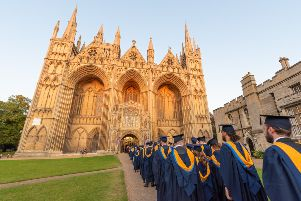 September Graduation Ceremony at Peterborough Cathedral