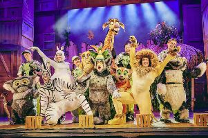 Madagascar The Musicalis coming to Peterborough New Theatre on October 2. Photo by Mark Dawson Photography.