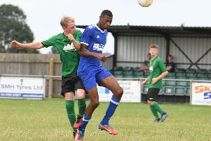 Jake Ellis provided an assist for Sleaford's third goal EMN-190927-125506002