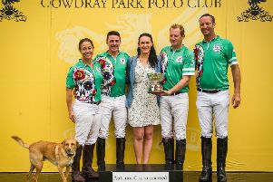 The Autumn Cup winners / Picture by Mark Beaumont