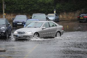 Car Haven Car Park after heavy rain earlier this week