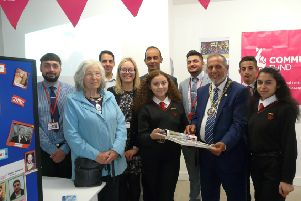 Queen Katharine Academy celebrate the Roma community