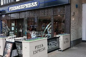 Pizza Express in Peterborough.