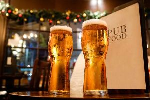 The pub has been banned from selling alcohol