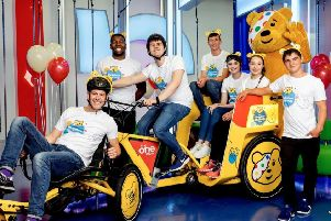 The One Show's Rickshaw Challenge, in aid of the charity appeal Children in Need, will visit Melton in November EMN-191018-091904001