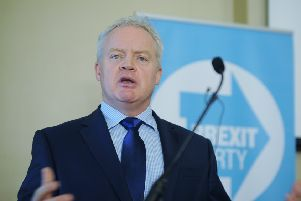 Brexit Party prospective Parliamentary candidate for Peterborough Mike Greene
