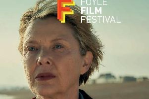Academy Award nominee Annette Bening on the cover of the Foyle Film Festival programme.