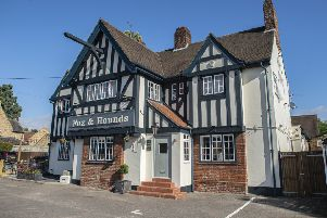 The new-look Fox and Hounds at Longthorpe, Peterborough