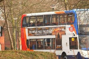A Stagecoach bus in Peterborough