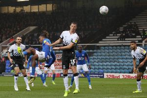 Posh striker Ivan Toney is one caution away from a suspension.
