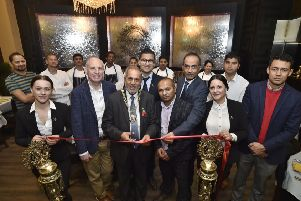 Opening of the Gurkha Durbaar restaurant at Broadway by Mayor of Peterborough Coun. Gul Nawaz EMN-191030-082648009