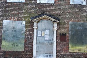 The closure order placed at Ely House. Photo: Fenland District Council