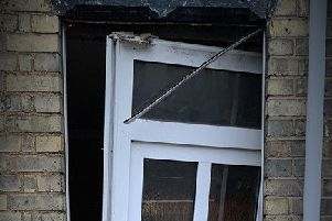The property where the arrests were made. Photo: Cambridgeshire police